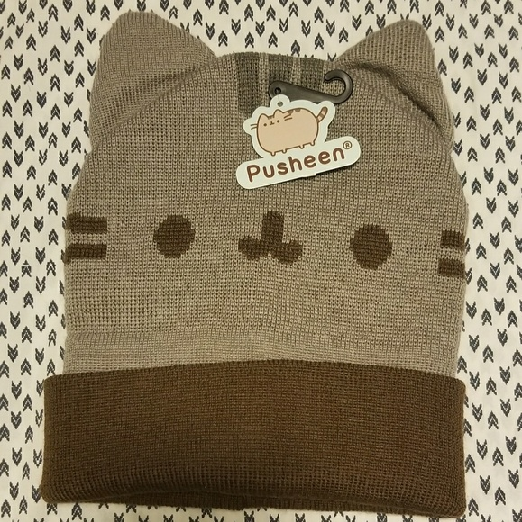 e5060c62338 PUSHEEN CAT EAR BEANIE UNISEX